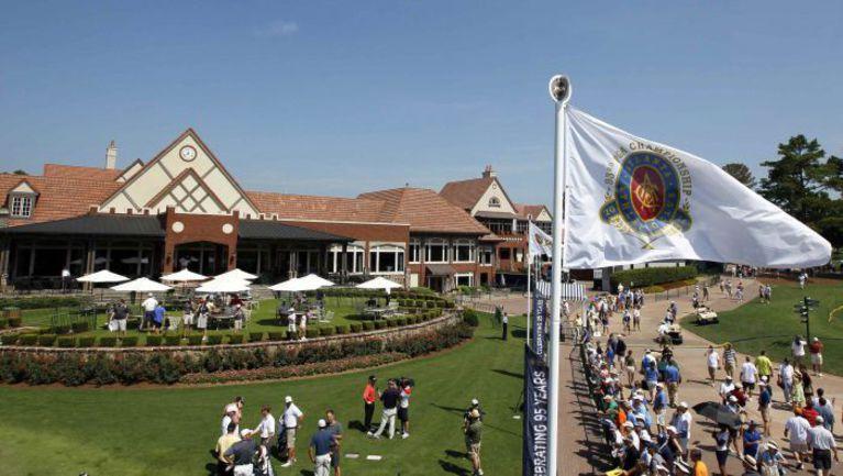 Вторник. Джонс-Крик. В Atlanta Athletic Club все готово к старту PGA Championship. Фото REUTERS