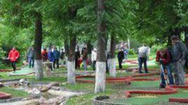 Россия впервые примет международный турнир по мини-гольфу