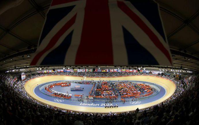 Так выглядит изумительный лондонский Velodrome, на котором, увы, россияне не смогли выиграть ни единой медали. Фото REUTERS