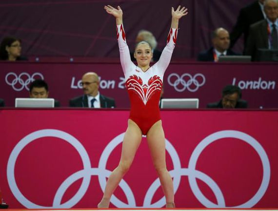 Четырехкратная медалистка Лондона-2012 Алия МУСТАФИНА. Фото REUTERS