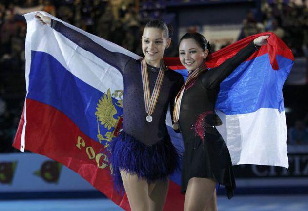 Суббота. Загреб. Аделина СОТНИКОВА (слева) и Елизавета ТУКТАМЫШЕВА. Фото REUTERS