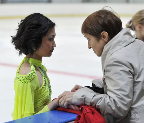 """Тамара МОСКВИНА и Юко КАВАГУТИ (слева). Фото Александра ФЕДОРОВА, """"СЭ"""". Фото """"СЭ"""""""