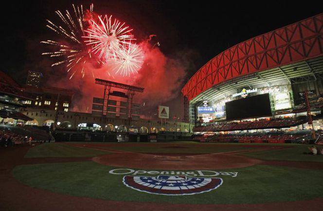 Воскресенье. Хьюстон. Открытие сезона в MLB. Фото REUTERS