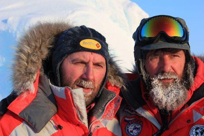 """Завершение экспедиции """"Карелия – Северный полюс – Гренландия"""" отложено на год Фото """"СЭ"""""""