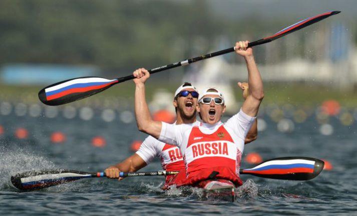 Александр ДЬЯЧЕНКО и Юрий ПОСТРИГАЙ. Фото REUTERS