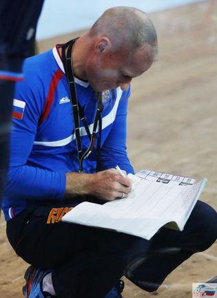 Бенуа ВИТУ. Фото - Федерация велосипедного спорта России.