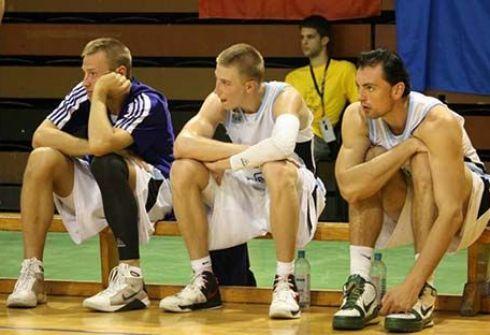 Станислав Крайнов на ЧЕ среди студентов, Сплит (Хорватия). Фото isbl-basket.com.