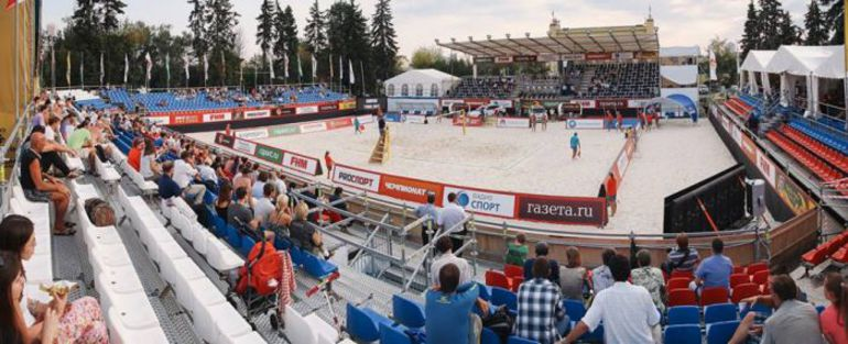 В Москве продолжается этап мирового тура Moscow Grand Slam. Фото - vcmo.ru.