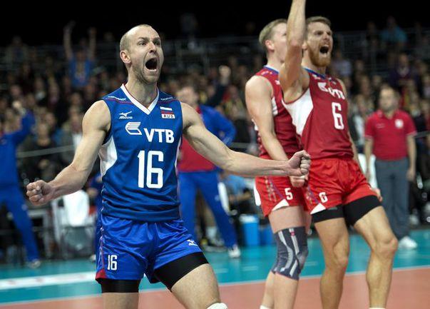 Вчера. Копенгаген. Россия - Италия - 3:1.  Эмоции Алексея ВЕРБОВА. Фото AFP