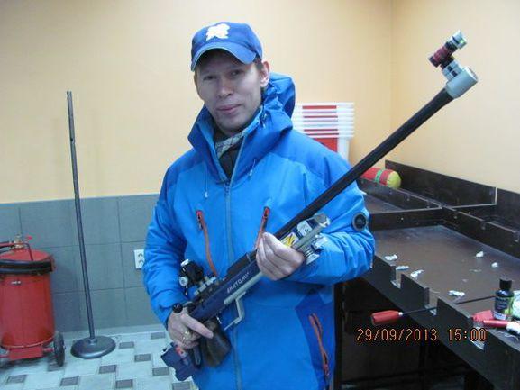 Краснодар. Денис Соколов выиграл два золота за два дня.