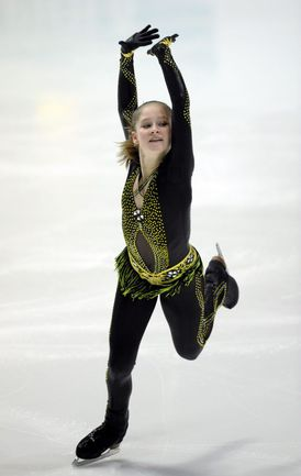 Юлия ЛИПНИЦКАЯ. Фото AFP