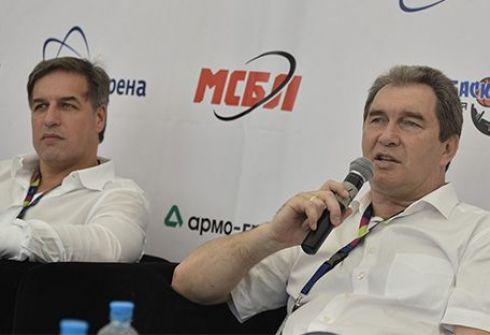 Андрей Перегудов и Виктор Кравченко. Фото isbl-basket.com.