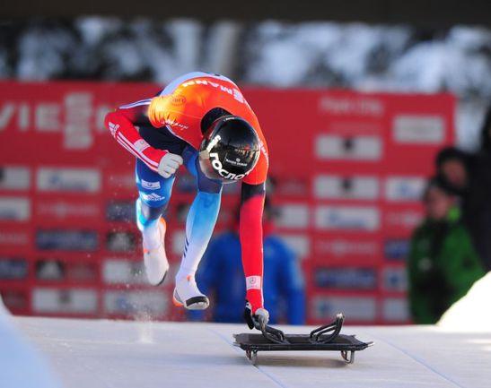 На этапе Кубка мира в Парк-Сити Александр ТРЕТЬЯКОВ занял второе место. Фото AFP