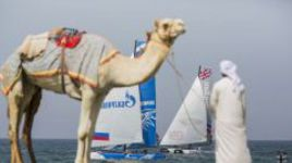 Gazprom Team Russia: первая в истории  победа в Extreme Sailing Series