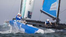 Gazprom Team Russia: очередная победа в Омане  и пятое место в тотале Extreme Sailing Series