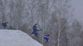 Чемпионат России по фристайлу в дисциплине ски-кросс