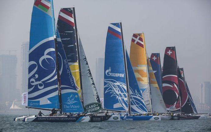 Gazprom Team Russia . Фото Extreme Sailing Series