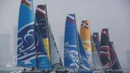 Третий этап Extreme Sailing Series российская Gazprom Team Russia начала нестабильно