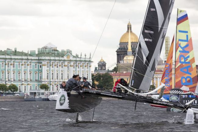 Дебютанты Extreme Sailing Series из Russian First. Lloyd Images. Фото Extreme Sailing Series