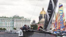 Gazprom Team Russia стартовала на четвертом этап Extreme Sailing Series в Санкт-Петербурге с победы