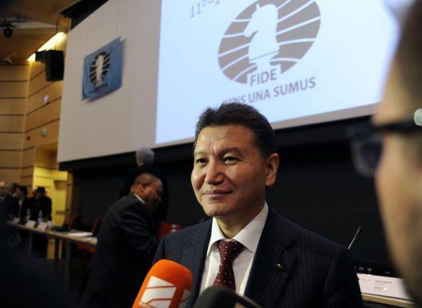 Кирсан ИЛЮМЖИНОВ. Фото REUTERS