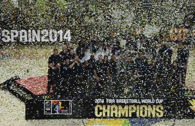 Воскресенье. Мадрид. Сборная США катком прошлась по всем соперникам на чемпионате мира. Фото REUTERS
