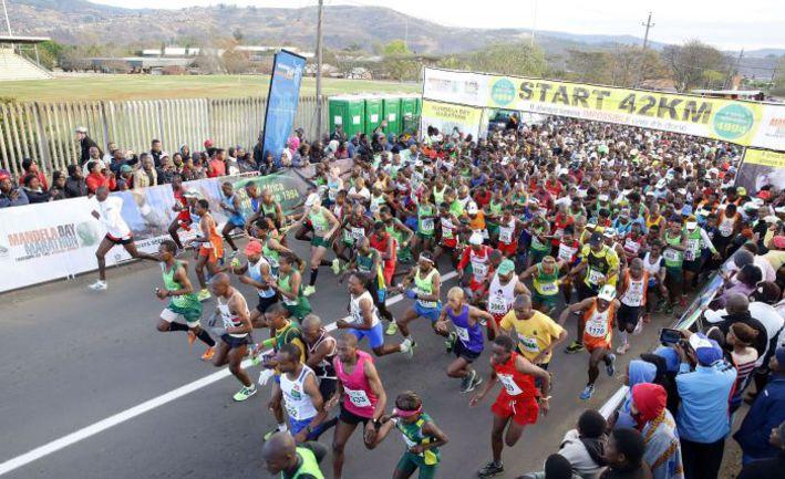 Неписаные законы марафона помогут вам почувствовать себя своим на празднике бега. Фото AFP