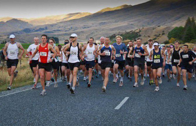 На краю света: лучшие марафоны декабря Фото www.highlandevents.co.nz