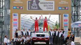 Триумфальная победа серийных внедорожников Toyota в