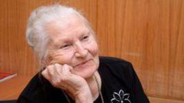 Олимпийская чемпионка-1952 Нина ПОНОМАРЕВА.
