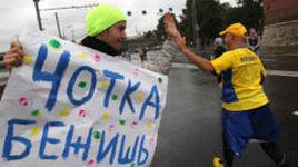 Московский марафон назло непогоде