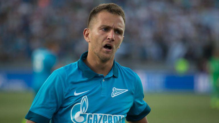 """Кришито продлил контракт с """"Зенитом"""""""