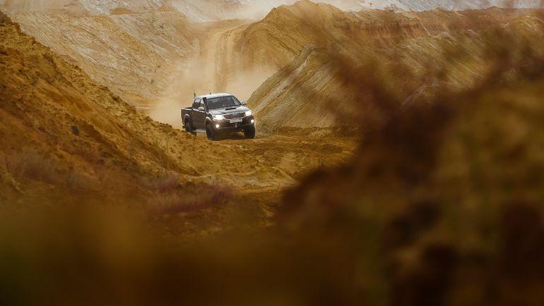 Toyota. Фото Hilux