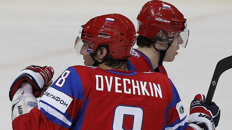 Александр ОВЕЧКИН и Евгений МАЛКИН - лидеры НХЛ по зарплате в сезоне-2014/15.