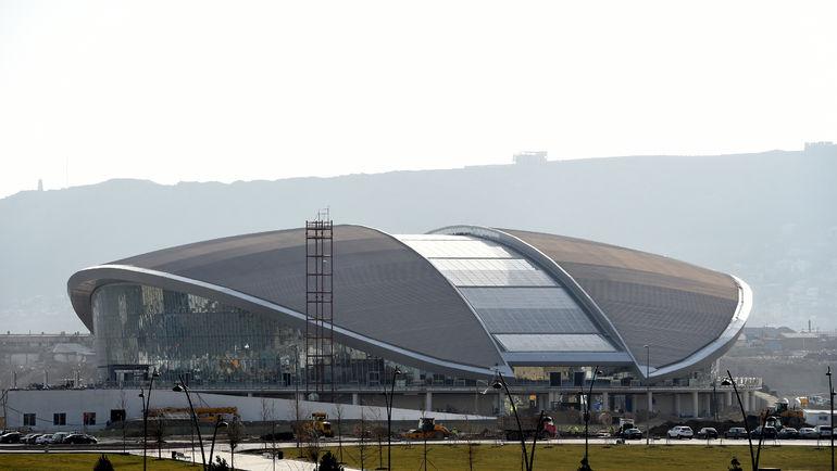 Одним из самых красивых объектов Европейских игр-2015 в Баку будет Центр водных видов спорта. Фото baku2015.com