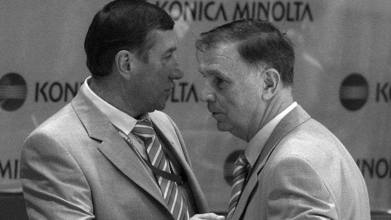 Вслед за Виктором Васильевичем ТИХОНОВЫМ (справа) нас покинул и Валерий Константинович БЕЛОУСОВ.