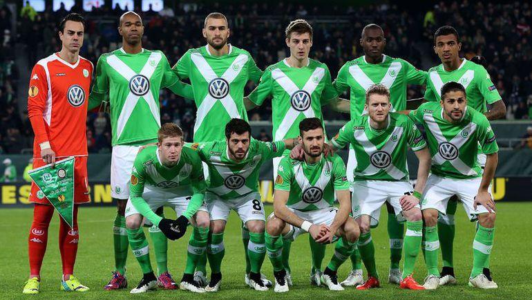Футбольная команда вольфсбург