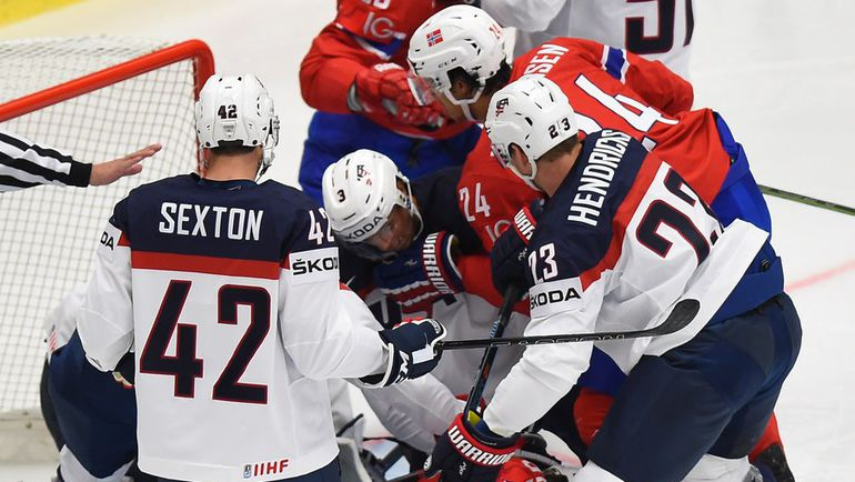 Сборная США станет первой серьезной проверкой для российских хоккеистов на ЧМ-2015