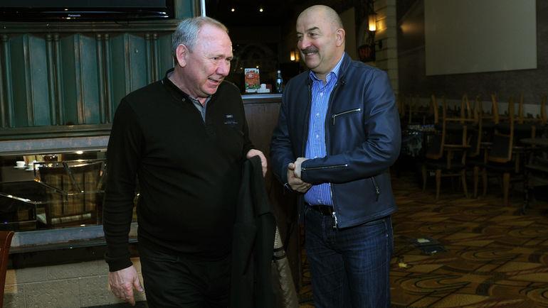 Олег Романцев и Станислав Черчесов