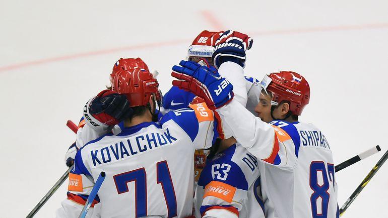 Сборная России победила Данию на чемпионате мира (Видео)