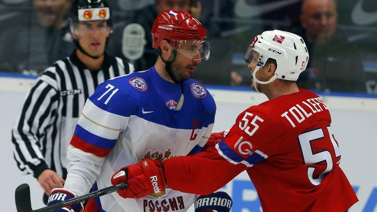 Тренерский штаб сборной России пока не нашел оптимальных партнеров для капитана национальной команды Ильи КОВАЛЬЧУКА (71).