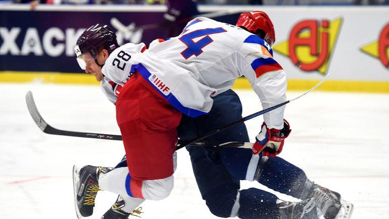 Россия победила Словакию в овертайме (Видео)