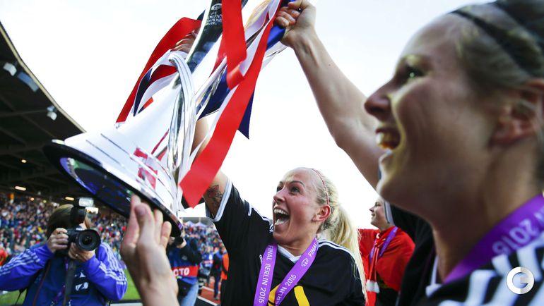 """""""Франкфурт"""" – победитель женской Лиги чемпионов."""