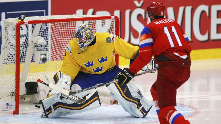 Россия обыграла Швецию и вышла в полуфинал чемпионата мира по хоккею (Видео)