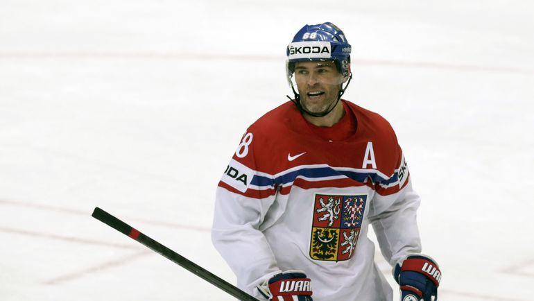 Нападающий сборной Чехии Яромир ЯГР. Фото REUTERS
