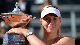 Как Шарапова победила Суарес Наварро в Риме
