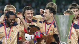 10 лет победе ЦСКА в Кубке УЕФА