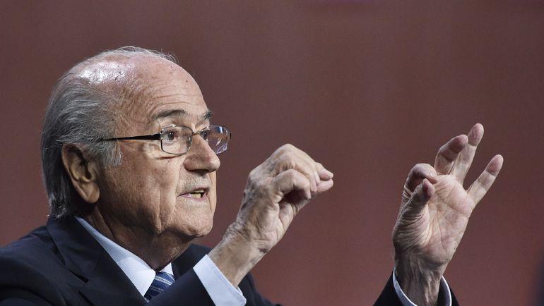 Президент ФИФА Зепп БЛАТТЕР. Фото AFP