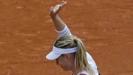 Шарапова покидает Roland Garros