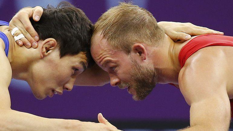 Виктор ЛЕБЕДЕВ и Марсель ЭВАЛД. Фото REUTERS